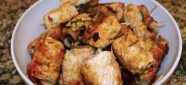 Culinária: Bifinhos de Perú Enroladinhos e Bolo de Ananás