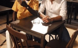 Cartola (Wilson Rebelo) e Paulinho da Viola  (Samuel de Assis). Crédito: TV Globo/ Renato Rocha Miranda